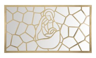 Nástěnný panel / Zrcadlo BIRTH FRAME 120 CM