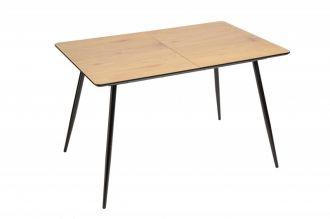Jídelní stůl APARTMENT 120-160 CM dubový vzhled rozkládací - rozbaleno
