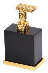 luxusní dávkovač mýdla FRAME GOLD s potahem 24 kt zlata