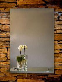 zrcadlo ORION 80/60 s osvětlenou poličkou