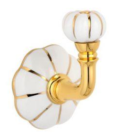 luxusní háček NISA GOLD s potahem 24 kt zlata