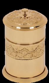 luxusní koš ROSE GOLD s potahem 24 kt zlata