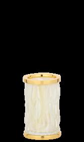 luxusní kelímek na kartáčky WAVE GOLD s potahem 24 kt zlata