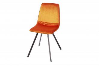 Židle AMSTERDAM oranžová
