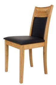 Židle čalouněná ENNY dubová