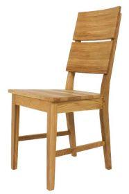 Židle celodřevěná KERY dubová