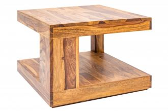 Konferenční stolek GIANT-2M 60 CM masivsheesham, II. jakost