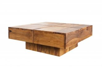 Konferenční stolek BOLT 80 CM masiv sheesham, II. jakost