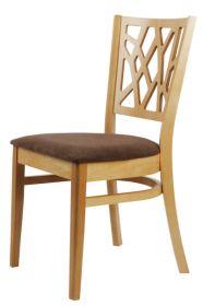Židle čalouněná ROMANA buková