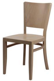 Židle celodřevěná BRUNA II buková