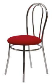 Židle čalouněná ANTONIE chromová