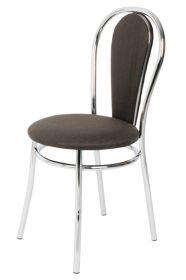 Židle čalouněná PAVLA chromová