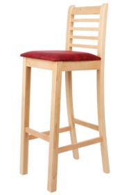 Židle barová čalouněná ŠÁRKA buková