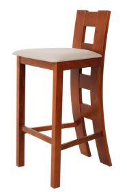 Židle barová čalouněná NORA buková