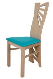 Židle čalouněná AMÁLIE buková