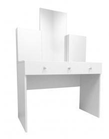 toaletní stolek se zrcadlem CARMINE+dárková kosmetická sada