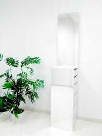 toaletní stolek se zrcadly FRANCIS+dárková kosmetická sada