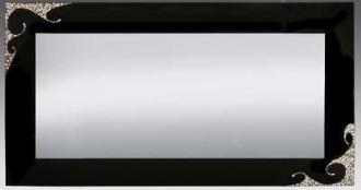 luxusní zrcadlo SIRIUS SWAROVKI 150/80-SW