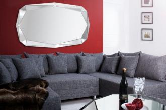 Luxusní zrcadlo DIAMOND 120/80-F s fazetou