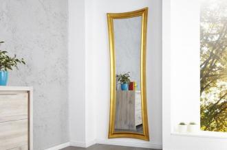 Luxusní zrcadlo SKINNY GOLD 180/60-G