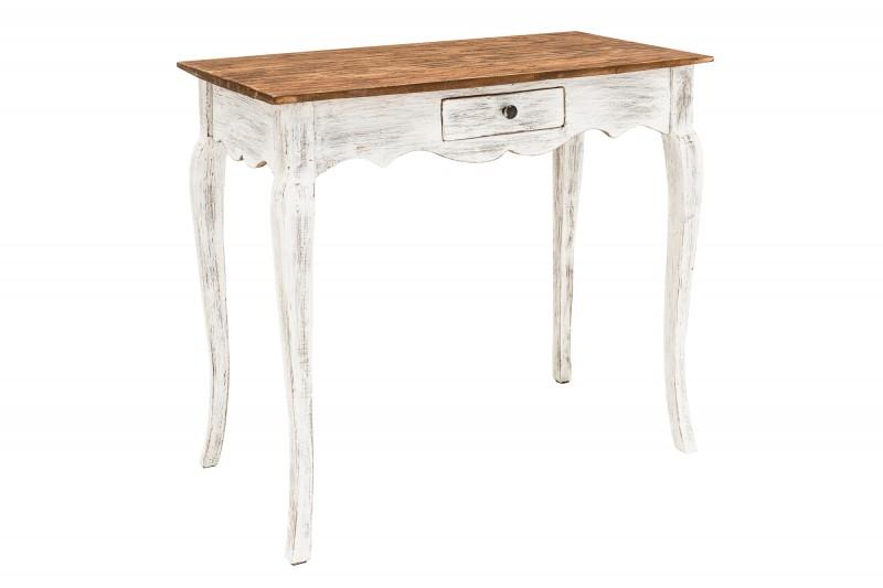 d0296133f3 Odkládací stolek HEMINGWAY RETRO WHITE masiv mahagon
