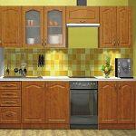 Kuchyně PREMIUM II dekor olše