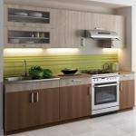Kuchyně BIANCA dekor sonoma-akácie