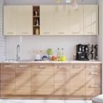 Kuchyně LENA dekor písek-sonoma