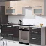 Kuchyně MERCURY dekor béžová-grafit