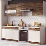 Kuchyně MIA dekor akácie-vanilka