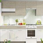 Kuchyně MIA dekor picard-bílá