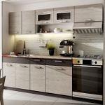 Kuchyně MORENO dekor picard-šedá