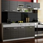 Kuchyně MORENO dekor grafit-šedá