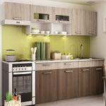 Kuchyně MORENO dekor sonoma-akácie