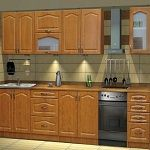 Kuchyně PREMIUM de LUX dekor olše