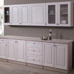 Kuchyně SANDY dekor bílá-dub sonoma