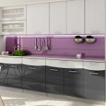 Kuchyně SMILE dekor černá-bílá